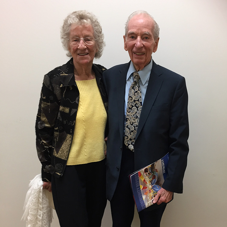 Beryl Herdan and Al Neale