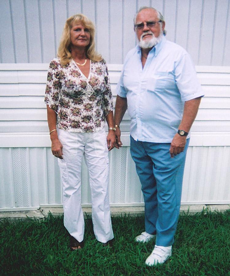 Julia and Fred Slater